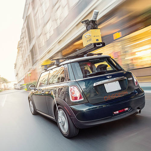 captar datos con mobile mapping