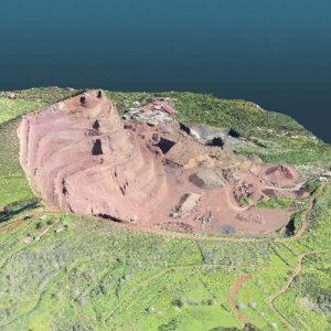 topografia de minas y canteras con drones - uav