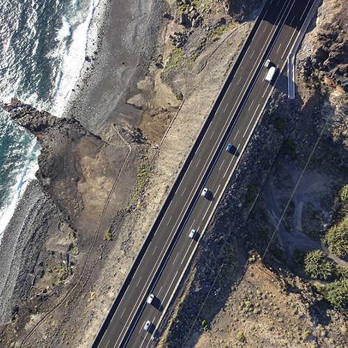 aménagement du territoire avec des drones
