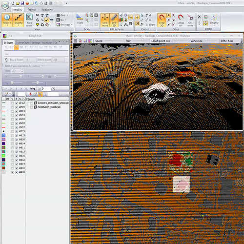 photogrammetry software, point cloud treatment