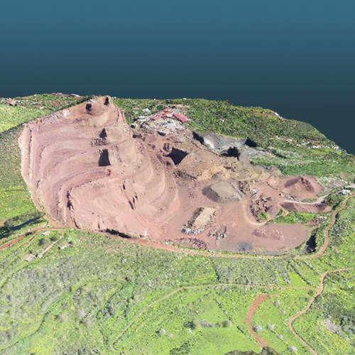 advantajes of using drones in mining quarries